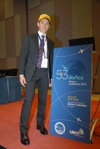 Patrik Peters, elegido nuevo presidente de IFATCA