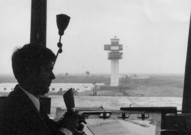 First Barcelona Tower. In the background, the second one. 1965